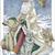 Polar Bear Santa Cross Stitch Pattern***LOOK***X***INSTANT DOWNLOAD***