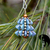 Tiny Tree Ornament Pendant Pattern by DatzKatz Designs