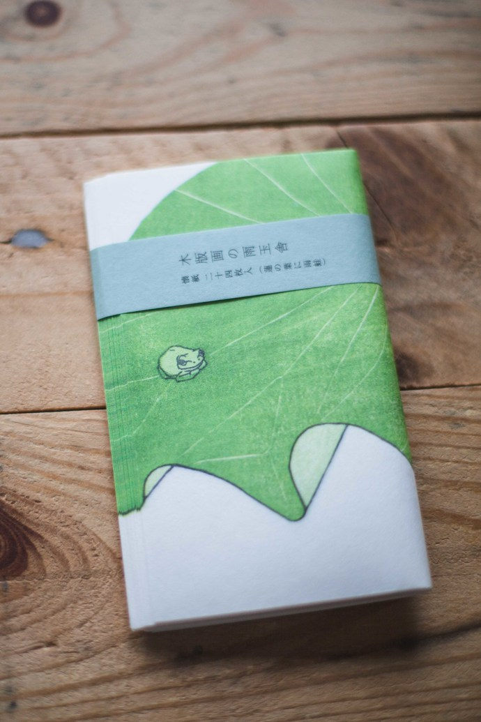 Classiky Kaishi washi paper - frog - perfect for journaling & happy mail -CKW-