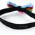 Kawaii Rainbow Elastic Cat Collar with Lace, Pet Photo Props, Pet Accessories,