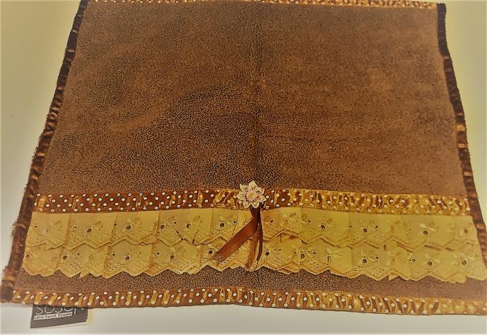 Decorated Walnut Hand Towels