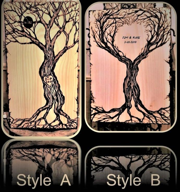 Wood Anniversary gift,five year Anniversary,Retirement gift -Couples gift,