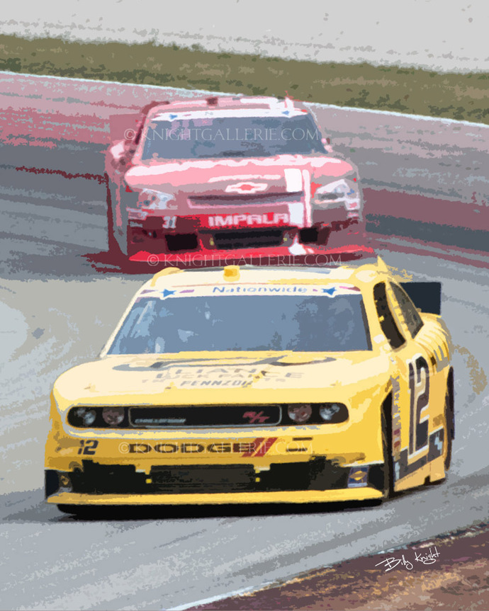 Motorsports Image: Out of the Turn
