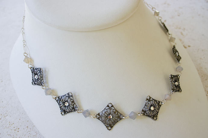 Regine, handmade Bridal Necklace