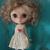 MIDDIE Blythe Red heart Valentine dress