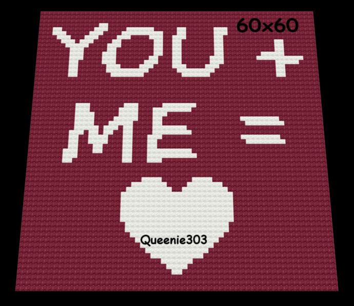 Love You Plus Me 60x60