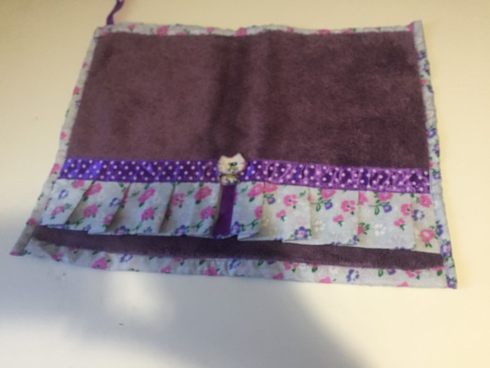 Lavender Decorated Hand Towels