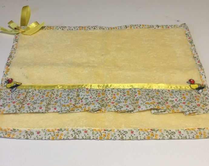 Lemon Decorated Hand Towels
