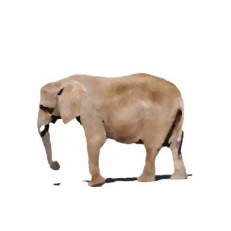 Elephant Art Print - Elephant Artwork Elephant Art Nursery Elephant Artwork