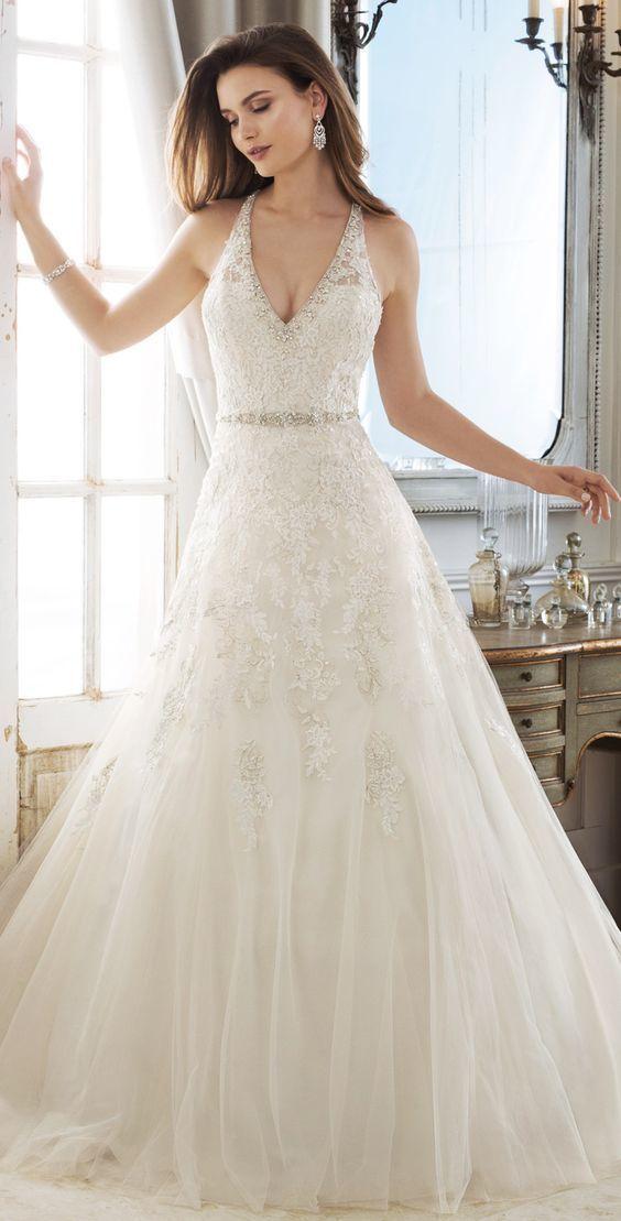 Fascinating Tulle V-neck Weeding by prom dresses on Zibbet 482640c89