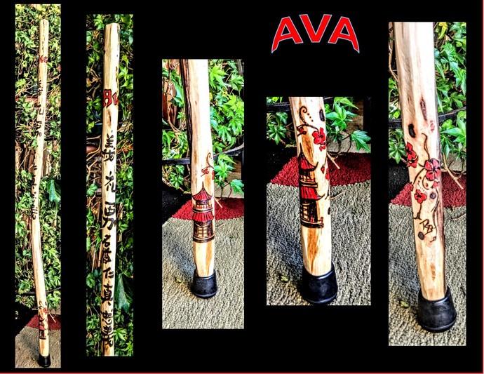 child walking stick,kids stick,hiking stick,walking stick.hikers gift - wood