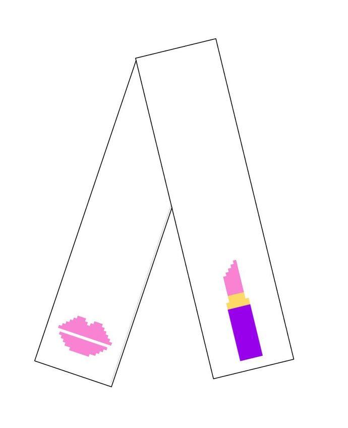 Lipstick Scarf