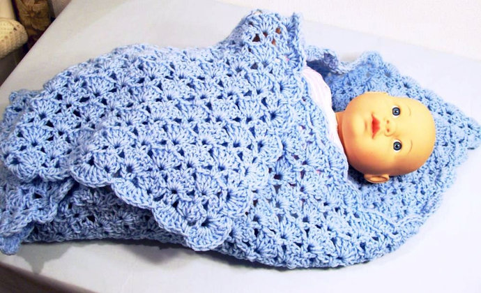 Baby Boy Blue Blanket Baby Boy By Handmadegiftsbybarb On Zibbet