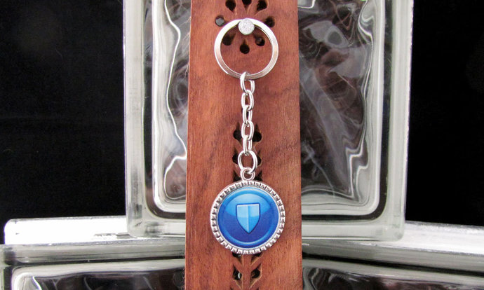 City of Heroes Remembrance Defender Key Chain - Item Number 7014