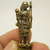 Thai mini brass amulet phra sivalee close disciple of lord Buddha blessed for