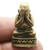 phra Sangkajai pidta pitta pita hotei budai thai mini brass amulet good luck