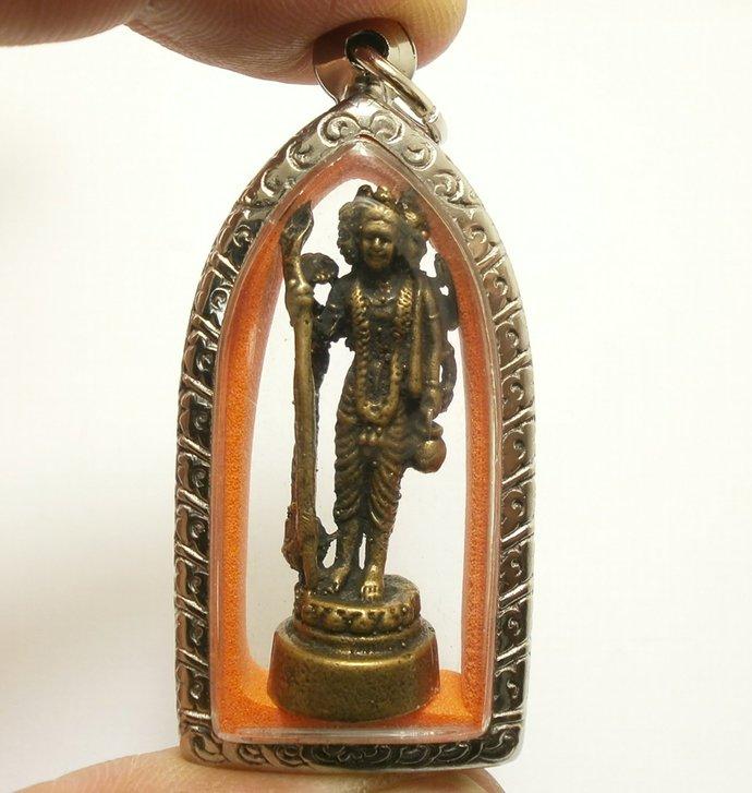 Phra Trimurti 3 Supreme Hindu Gods Shiva Brahma Vishnu pendant locket success