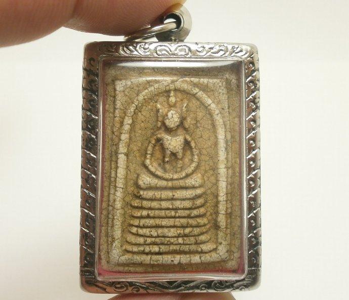 Super Powerful Thai antique Phra Somdej Toh gate chaiyo wat rakang blessed for