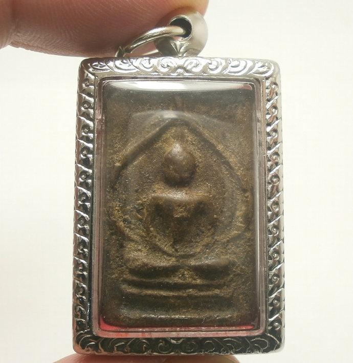 Somdej LP Boon Buddha Meditate in Magic Nirvana back Magic Yant powerful amulet