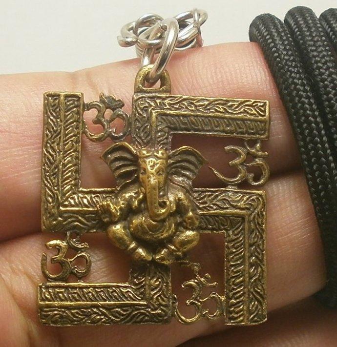 lord Ganesh ganapati vinayaka ganesh god of success om ohm aum trimurti sign