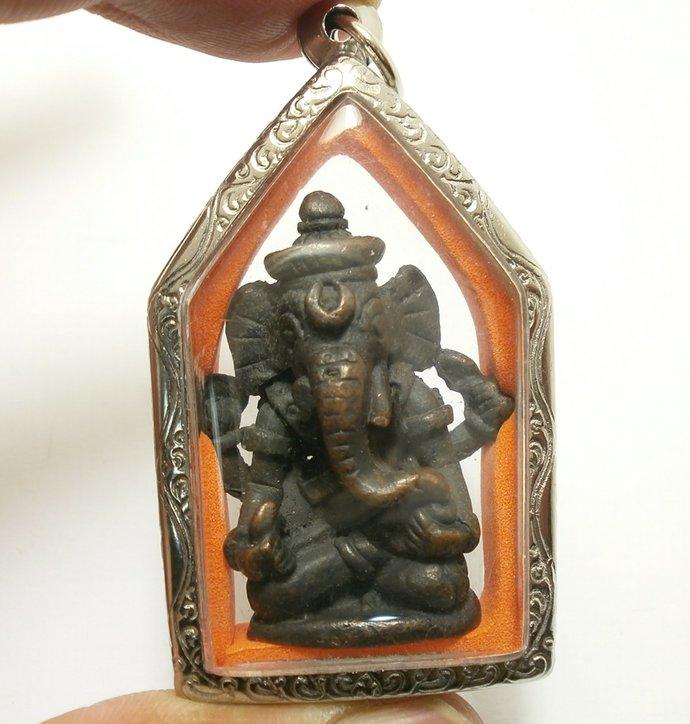 Lord Ganesh Ganesha ganapati vinayaka Pendant lucky blessing Hindu god deity