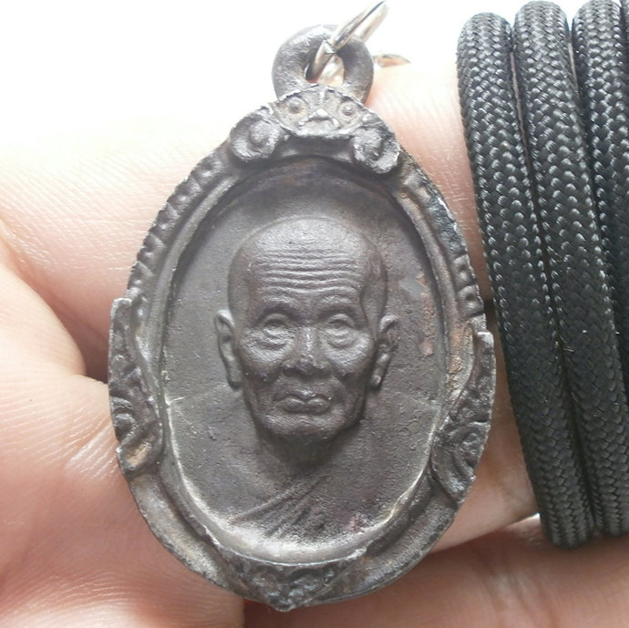 Thai Buddha amulet pendant lp tuad thuad Langkasuga legend magical monk step to