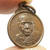 lp Klai tiny coin thai buddha amulet powerful pendant blessed in 1962 (2505 BE.)
