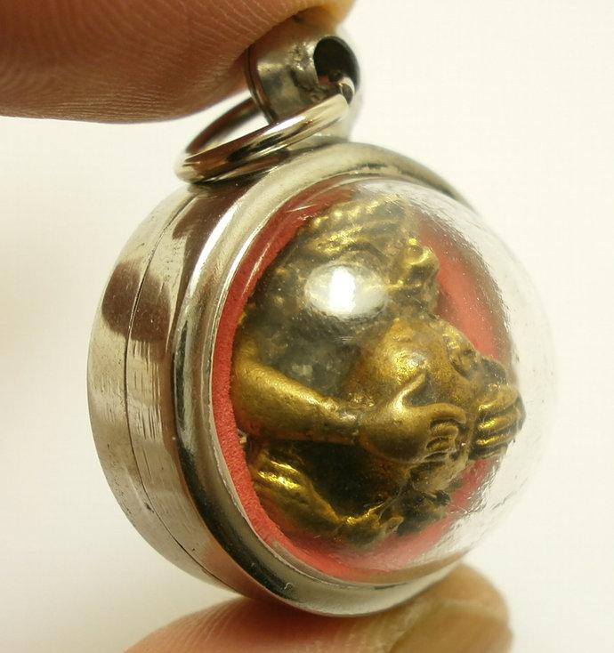 Lord Hanuman Thai Pendant amulet monkey king magic mantra Ramayana Hindu life