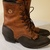 Vintage and Handcrafted Leather Boots with Tassels
