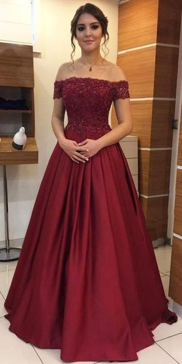 Off The Shoulder Appliqued Long Prom Dress By Meetbeauty On Zibbet - Hair Beauty