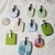 9 Hand Blown Glass Pendants