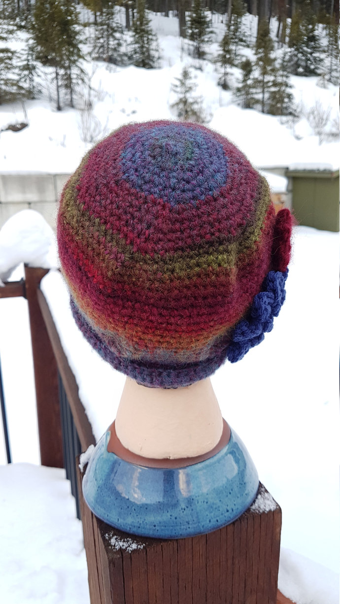 Sweet-Roll Brim Hat