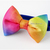 Rainbow Bow Tie for Cats, Cat Lovers, Photo Props, Pet Accessories