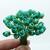 50 Rose Flower Mulberry Paper, 6mm, turquoise, Scrapbook Craft, Wedding Decor