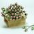 50 Rose Flower Mulberry Paper, 6mm, light rose, Scrapbook Craft, Wedding Decor