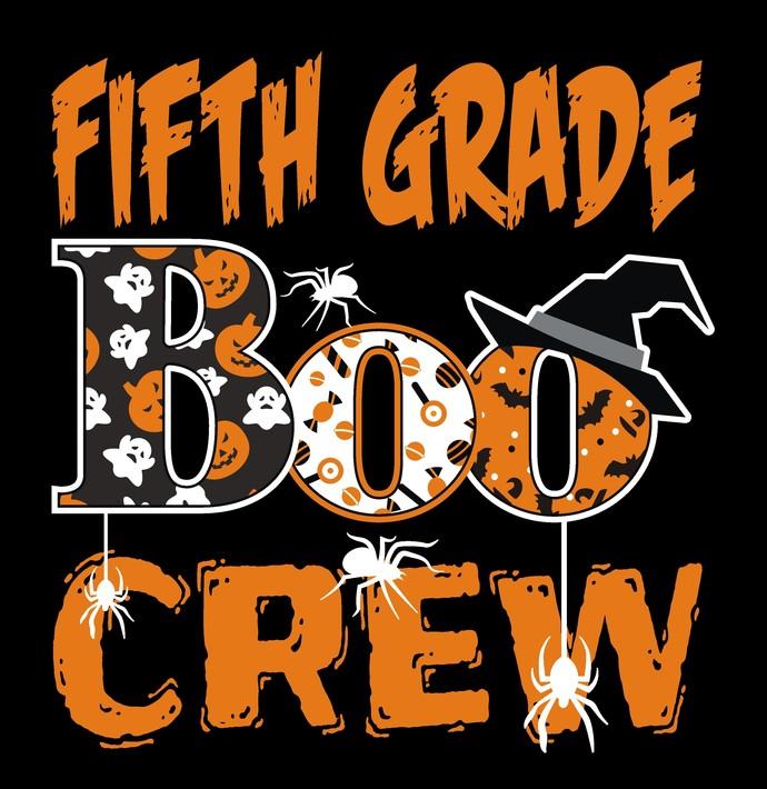 Fifth Grade Boo Crew, Halloween, Ghost, Goblins, Candy Corn, Grade School,