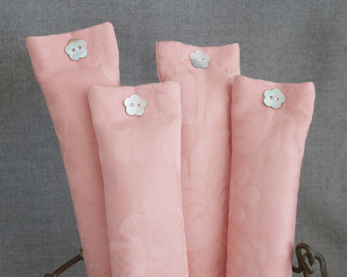 Rose Pink Travel Pillow Sachet | Lavender Sachet | Hostess Bridesmaid Gift