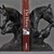 A Pair of Bronzed Horse Heads Bookends for Chic Countrylife style Horse figure