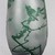 Large Vintage Emile Galle style Cameo Glass Vase with Art Nouveau Floral Decor