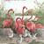 Pink FLamingo Birds Cross Stitch Pattern***LOOK***X***INSTANT DOWNLOAD***