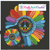 Rainbow Flower Colorful Peace Sign Pattern Graph with SC written