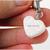 Snow Queen Resin Heart Charm, Pet Collar Charms, Zipper Pull, Cat Accessories