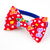 Christmas Cat Bow Tie in Red, Removable, Pet Accessories, Small Dog