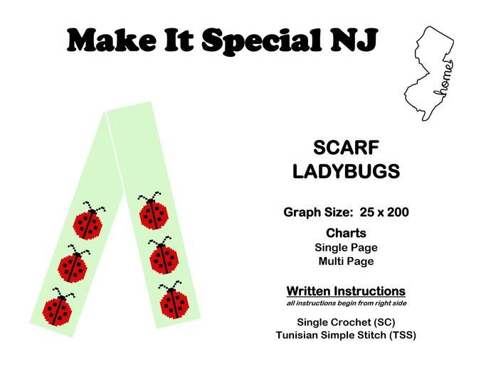 Scarf - Ladybugs