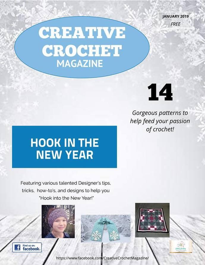 Creative Crochet Magazine -Jan 2019-FREE Edition