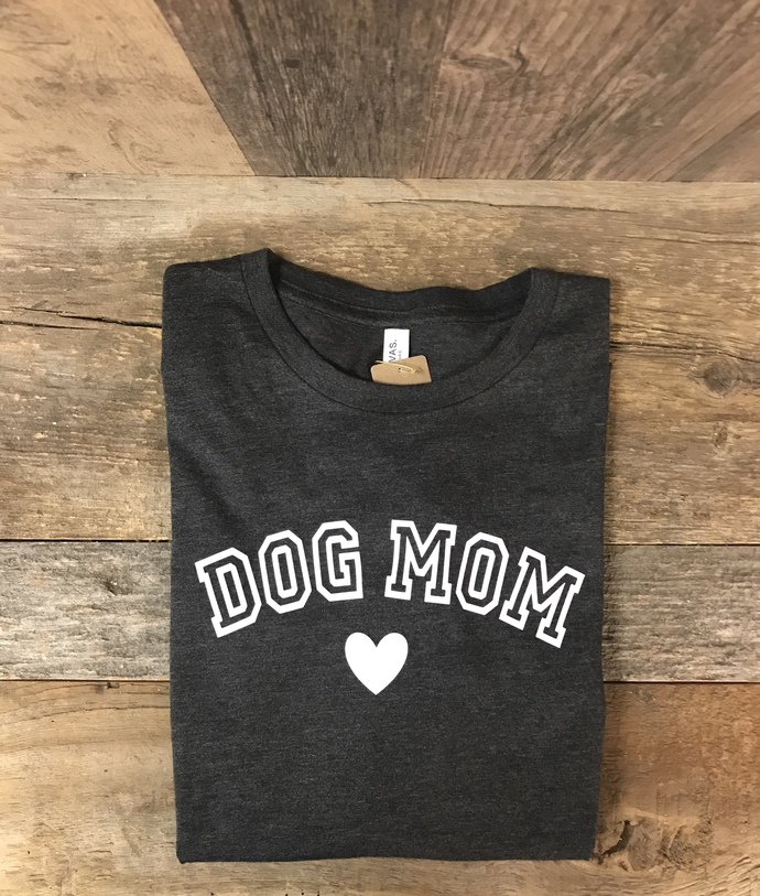 Dog Mom Heart Long Sleeve