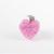 Pink Resin Heart Charm, Zipper Pulls, Pet Collar Charms, Cat Accessories