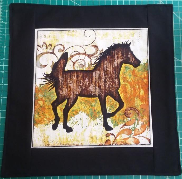 Horse in runing