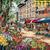 Paris Market Cross Stitch Pattern***LOOK***  ***INSTANT DOWNLOAD***