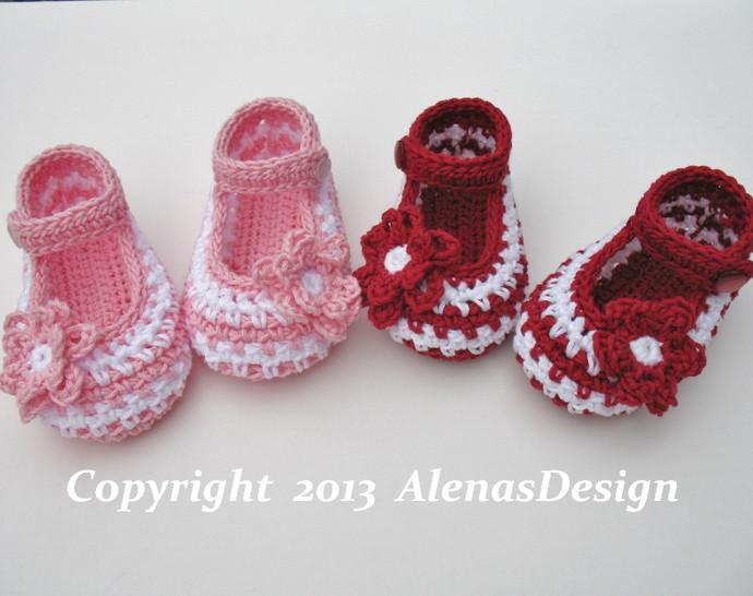 Crochet Booties Pattern 076 Crochet Baby Shoes Pattern Crochet Slipper Pattern